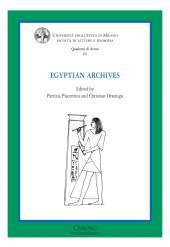Egyptian Archives_Piacentini_Orsenigo_Cover