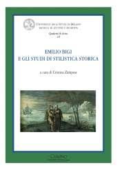 Emilio Bigi e gli studi di stilistica storica_Zampese_cover