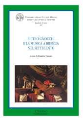 Pietro Gnocchi e la musica a Brescia nel seccento_Toscani_copertina
