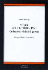 Storia del diritto italiano_Marongiu