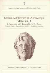 Museo dell'Istituto di Archeologia Materiali 1_Invernizzi Tomaselli Zezza_copertina