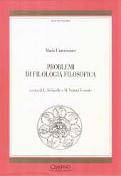 Problemi di filologia filosofica_Untersteiner_copertina