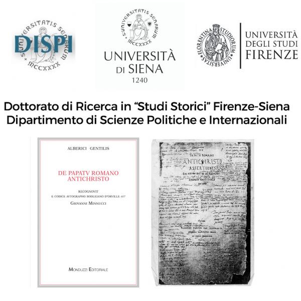 Presentazione Siena, 15 aprile 2019, De papatu Romano Antichristo