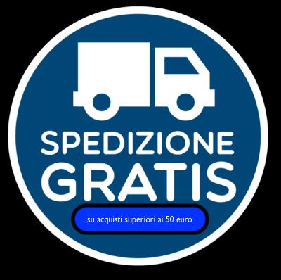 Spedizioni gratuite per gli ordini superiori ai 50 euro